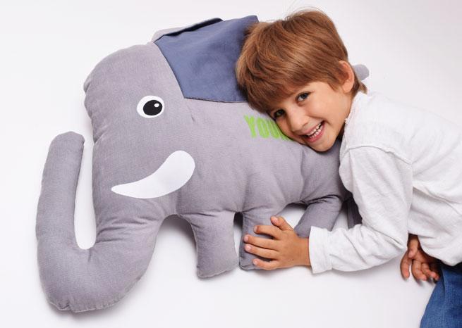 Elefant mit Namen