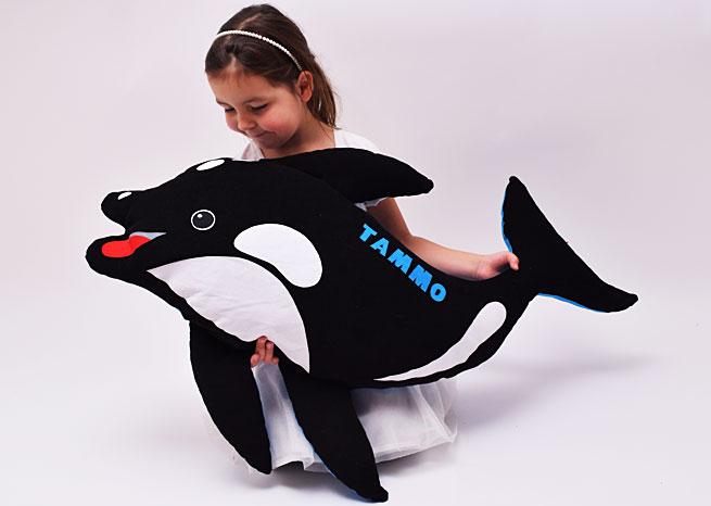 Orca mit Namen