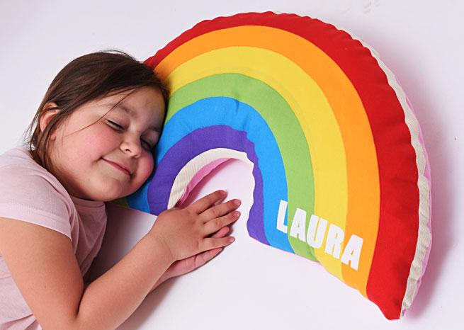 Regenbogen mit Namen
