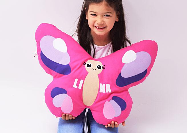 Schmetterling mit Namen