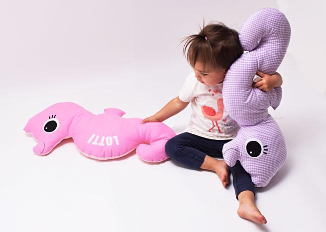 Seepferdchen mit Name